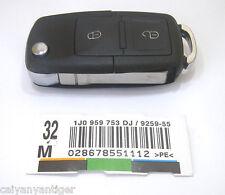 Floding Flip Blank Remote Key Case Shell for SEAT Leon Toledo Skoda Octavia Polo