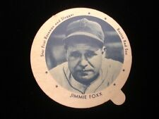 1938 Jimmie Foxx Boston Red Sox Dixie Lid with Tab EX
