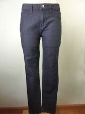 $9.95 JEANS SALE!! very dark blue stretch tapered skinny leg Jeans sz 10