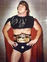 terry funk signed photo 8x10 NWA WWE WCW ECW Wrestling Autograph EXACT PROOF