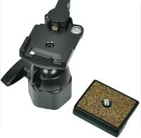 Metal WEIFENG 6662A Tripod Ball Head Drag and Quick Release Plate for camera DV