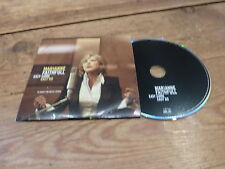 MARIANNE FAITHFULL - EASY COME / EASY GO !!!!! RARE FRENCH  PROMO CD!!
