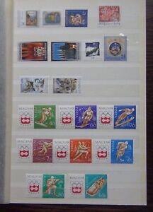 Hungary 1963 2001 issues Olympics Xmas 1993 1994 Europa  sets etc MNH
