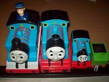 Lot of 4 Thomas the Train Toys 2007 2009 Matel HiT Company Engines Preschool Tv