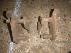 massey ferguson 100  500 series square axle pick up hitch brackets