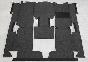 Black carpet loop kit for BMW E10 1502 1602 1802 2002 ti tii RHD
