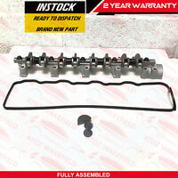 FOR MITSUBISHI 2.5D 2.5TD 4D56 INLET EXHAUST ROCKER ARMS SHAFT SPRINGS GASKET