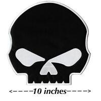 """HUGE Punisher Willie G. Skull Patch Jacket Vest Large Motorcycle 10"""""""