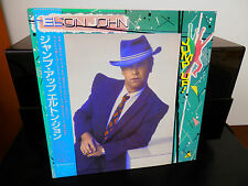 Elton John-Jump Up Japan Import LP w/OBI and Insert on Rocket Records Near Mint