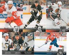2010 2011 UPPER DECK NHL HOCKEY COMPLETO MINT Básico Serie 1 and 2 Set 400