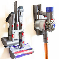 Brush Head Holder Wall Mount Storage Rack for Dyson V7 V8 V10 Vacuum Cleaner SET