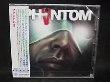 PHANTOM 5 ST + 1 JAPAN CD Scorpions Bonfire Mad Max Casanova Jaded Heart
