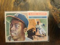 1956 Topps #31 Hank Aaron Milwaukee Braves HOF