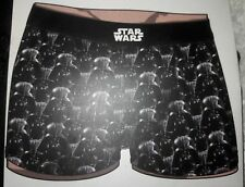 Officially Licensed Star Wars Darth Vader  Boxer Briefs for Men NWT LG - 2 Pairs