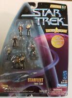 Playmates 1997 Star Trek Strike Force Starfleet Away Team Miniature - 16272