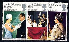 ISOLE DI TURKS & CAICOS - 1977 - 25° del regno della Regina Elisabetta II