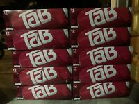 (1) 12-pack of Tab Cola Soda 12oz Cans, Discontinued