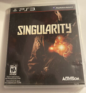 Singularity PS3 (Sony PlayStation 3, 2010) Complete Tested & Working Clean