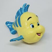 Vintage Disney The Little Mermaid Flounder PVC Figure Cake Topper Fish