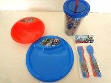AVENGERS ASSEMBLE AGE OF ULTRON PLATE BOWL FLATWARE UTENSILS TUMBLER NEW