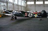 Original Kodachrome Slide, Luftwaffe Bf.108