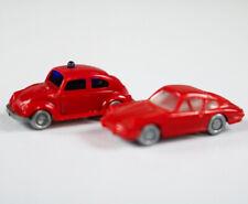 Wiking Modellautos Porsche 911 & Feuerwehr VW Käfer 1:160 Spur N Germany