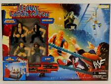 WWF BRAWL-4-ALL LETHAL LADDER MATCH PLAYSET JAKKS 1999