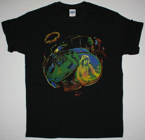 TEN YEARS AFTER ROCK N ROLL MUSIC TO THE WORLD 1972 BLACK T SHIRT HARD ROCK
