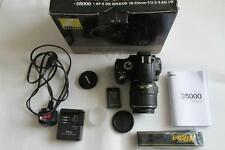 Nikon D D5000 12.3MP Digital-SLR DSLR appareil photo/caméscope + AF-S 18-55 mm Lens-Coffret