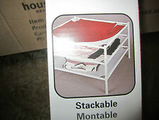 (1) Household Essentials Rust-Free Stackable Laundry Dryer Open Mesh New Sealed