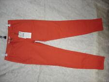 Z1975 ZARA Orange Denim Jeans Womens Jeans Size 6