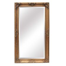 Extra Large Ornate Gold Mirror Vintage Style Classic Framed LOOK Very Heavy