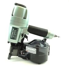 "Hitachi Genuine NV65AH2 Wire & Plastic 2-1/2"" Coil Siding Nailer Hardie Guarante"