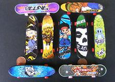 1:12 Scale Dolls House Miniature Plastic Skateboard Turning Wheels 9.5cm x 2.2cm
