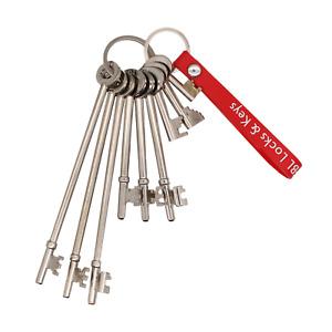 FB Key Set 7 - 9 Keys FB1 FB2 FB4 FB11 FB14 FB LONG Fire Brigade Maintenance Key