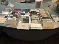 """Lot of 40 5.25"""" floppy disks The Immortal Police Quest Sierra UNTESTED, Vintage"""