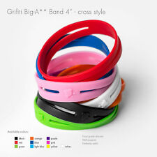 "Grifiti Big-Ass Bands X Cross Style 4"" 5 Pack Silicone Replace Rubber Elastic"