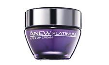 (100ml/133€)  AVON Anew Platinum Augencreme und Lippencreme