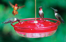 Cole's  Hummingbird  8 oz. Polycarbonate  Covered Tray  Bird Feeder  3 ports