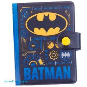 DC Batman Business ID Credit Card Holder Organizer Case Book Wallet w/Zip Pocket