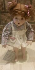"""Danbury Mint"""" Betsy"""" Porcelain Doll By Elaine Campbell 1991"""