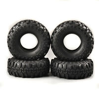 4X  1:10 Rubber Tires RC Car  Rock Crawler Off-road For HPI HSP Racing Truck US