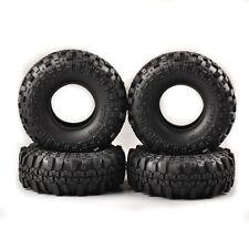 For HSP HPI Racing 1:10 RC Rock Crawler Car Truck Rubber Foam Tires 4Pcs Set