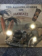 THE ROLLING STONES 'CLASSIC BROADCAST HAWAII 1966' LTD EDT CLEAR NEW VINYL LP