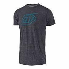 Troy Lee Designs TLD Informal Camiseta de manga corta con el logotipo de ónix/Azul