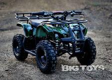 Kids Electric Battery Mini Quad ATV Dirt  Ride On sonora 24V go-bowen green camo