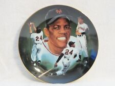 """Hackett American Collector Plate """"Willie Mays Edition"""" 1985"""