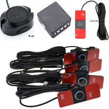 Auto Car Parking Sensors x4 Black Reverse Backup Radar BIBI Buzzer Alarm Sound
