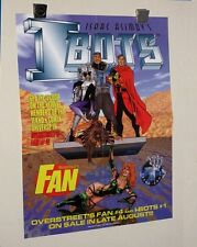 1990's Overstreet's Fan 22x17 I-BOTS comic book promo poster:Art by George Perez