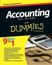Learn ,Study Accounting for Dummies,Digital Book in English,9 Books in 1 P.D.F